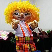 Куклы и игрушки handmade. Livemaster - original item Fedyunya. Theatre glove puppet.. Handmade.