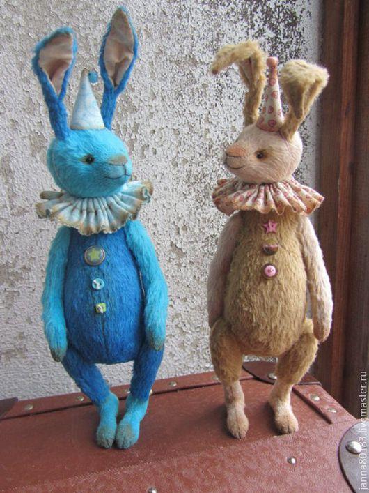 Мишки Тедди ручной работы. Ярмарка Мастеров - ручная работа. Купить Зайцы. Handmade. Бежевый, зайка в подарок, опилки древесные