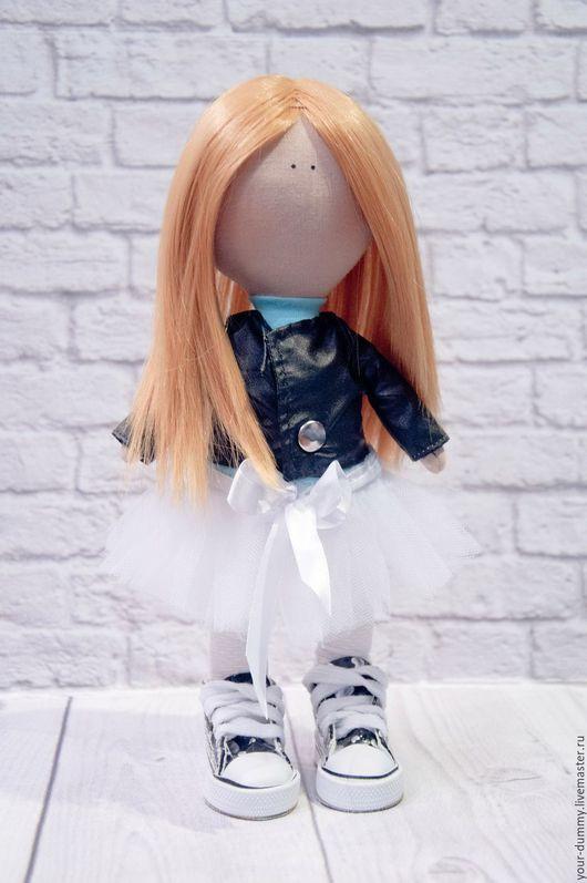 Коллекционные куклы ручной работы. Ярмарка Мастеров - ручная работа. Купить Куколка модница. Handmade. Бирюзовый, интерьерная игрушка