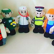 Куклы и пупсы ручной работы. Ярмарка Мастеров - ручная работа Распродаю куколки профессии. Handmade.