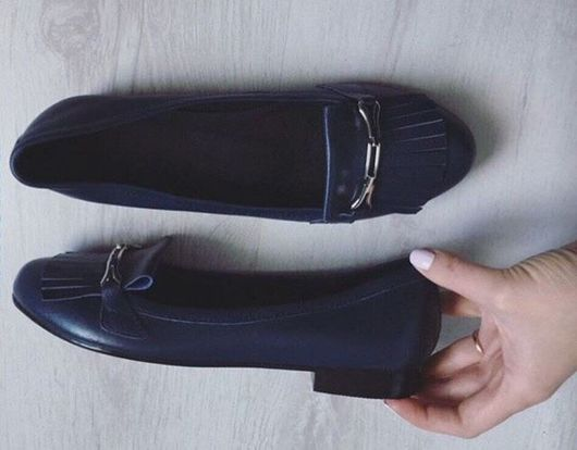 Обувь ручной работы. Ярмарка Мастеров - ручная работа. Купить Лоферы ручной работы. Handmade. Балетки, балетки ручной работы