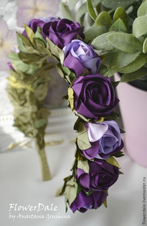 Ободок `Пурпурный`