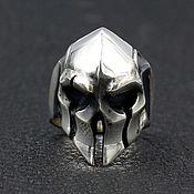 Украшения handmade. Livemaster - original item Ring Gladiator`s Helm made of silver 925. Handmade.