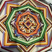 """Фен-шуй и эзотерика ручной работы. Ярмарка Мастеров - ручная работа Живая шаманская мандала """"Устойчивость во всех сферах жизни"""". Handmade."""