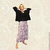 """Одежда ручной работы. Ярмарка Мастеров - ручная работа Юбка-брюки """"Почти связаны"""" свободный большой размер. Handmade."""