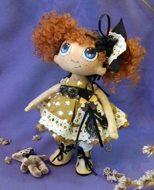 Коллекционные куклы ручной работы. Ярмарка Мастеров - ручная работа. Купить Кукла текстильная Мариша. Handmade. Кукла, авторская кукла