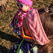 Повязки ручной работы. Ярмарка Мастеров - ручная работа Детская повязка на весну для девочки. Handmade.