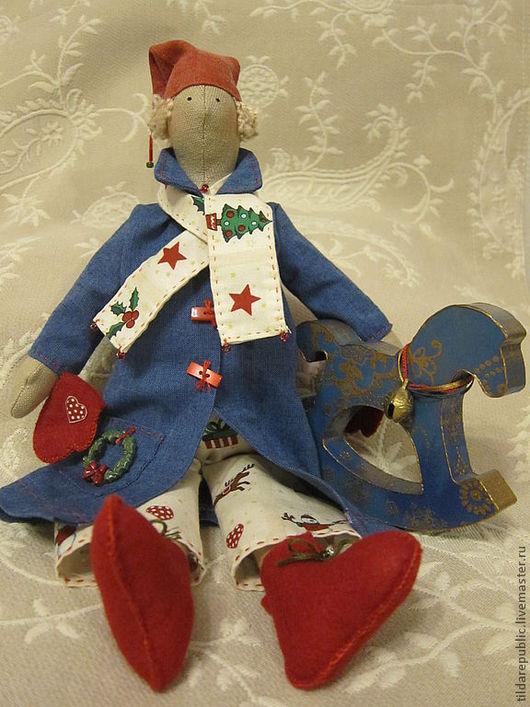 """Куклы Тильды ручной работы. Ярмарка Мастеров - ручная работа. Купить Тильда Талви """"Новогодняя Сказка"""". Handmade. Тильда, зима"""
