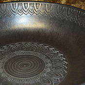 Блюдо керамическое