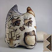 Для дома и интерьера ручной работы. Ярмарка Мастеров - ручная работа apple-mania (кот-девочка). Handmade.