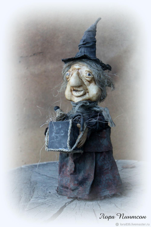 Ведьма миссис  Ester Hoggarth((Уехала в коллекцию), Интерьерная кукла, Волжский,  Фото №1
