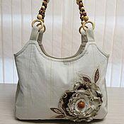 Классическая сумка ручной работы. Ярмарка Мастеров - ручная работа Джинсовая сумка. Handmade.