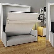 Кровати ручной работы. Ярмарка Мастеров - ручная работа Кровать Фантом в стиле Лофт будущего. Handmade.