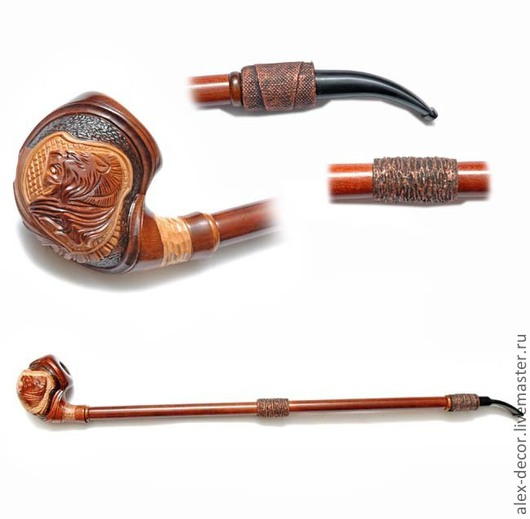 Подарки для мужчин, ручной работы. Ярмарка Мастеров - ручная работа. Купить Курительная трубка Orion-11070-63. Handmade. Коричневый