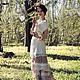 Алина Сапогова.  Авторское вечернее платье в стиле романтизм `Marnie` Эксклюзивный комплект : длинная юбка и верхнее платье.Свадебное платье в винтажном стиле. Фотограф Александр Сапогов.