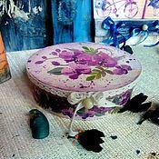 """Для дома и интерьера ручной работы. Ярмарка Мастеров - ручная работа Шкатулочка """"Весна"""". Handmade."""