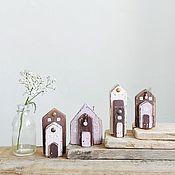 Для дома и интерьера handmade. Livemaster - original item Driftwood Houses Chocolate-covered marshmallows. Handmade.