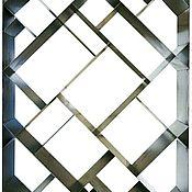 Для дома и интерьера ручной работы. Ярмарка Мастеров - ручная работа Геометрия. Стеллаж из металла. Handmade.