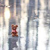 Куклы и игрушки ручной работы. Ярмарка Мастеров - ручная работа Малыш медвежонок. Handmade.