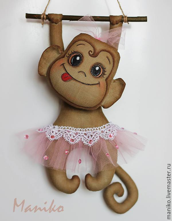Игрушки своими руками обезьянка фото