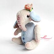 Куклы и игрушки ручной работы. Ярмарка Мастеров - ручная работа Слоник Няша. Handmade.