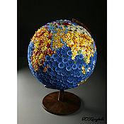 Цветы и флористика ручной работы. Ярмарка Мастеров - ручная работа Глобус,  диаметр - 45 см.. Handmade.