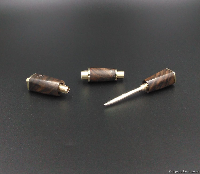 Cigar punch 6-12 Walnut, Cigarette holder, Moscow,  Фото №1