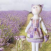 """Куклы и игрушки ручной работы. Ярмарка Мастеров - ручная работа Кошка """"А там еще немного и Прованс..."""". Handmade."""