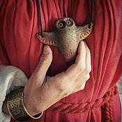 Музыкальные инструменты handmade. Livemaster - original item Whistles: Owls flying. Handmade.