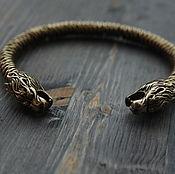 handmade. Livemaster - original item Bracelet bronze Viking. Handmade.