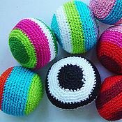 Куклы и игрушки ручной работы. Ярмарка Мастеров - ручная работа Детские развивающие мячики. Handmade.