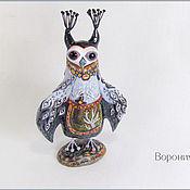 Куклы и игрушки ручной работы. Ярмарка Мастеров - ручная работа Сова-Хозяйка. Handmade.