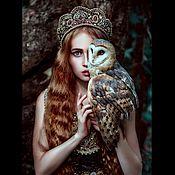 Украшения handmade. Livemaster - original item The headdress-a crown of fair maiden. Handmade.