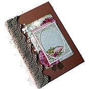 Канцелярские товары handmade. Livemaster - original item Notepad My garden. Handmade.