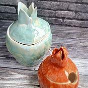 Сахарницы ручной работы. Ярмарка Мастеров - ручная работа Гранат из керамики. Handmade.
