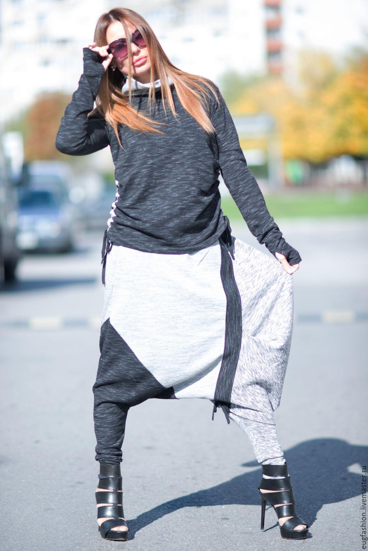 costume cotton. Costume fashion. pants. Blouse. Women's casual suit.