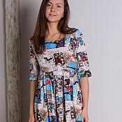 """Одежда ручной работы. Ярмарка Мастеров - ручная работа Платье """"Весна в Париже"""". Handmade."""