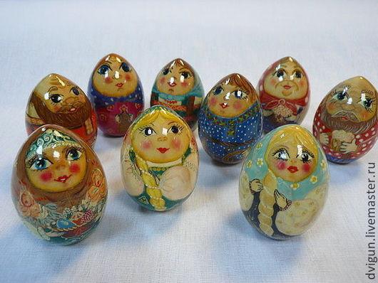 Матрешки ручной работы. Ярмарка Мастеров - ручная работа. Купить Яйцо деревянное, росписное. Handmade. Роспись по дереву, игрушка в подарок