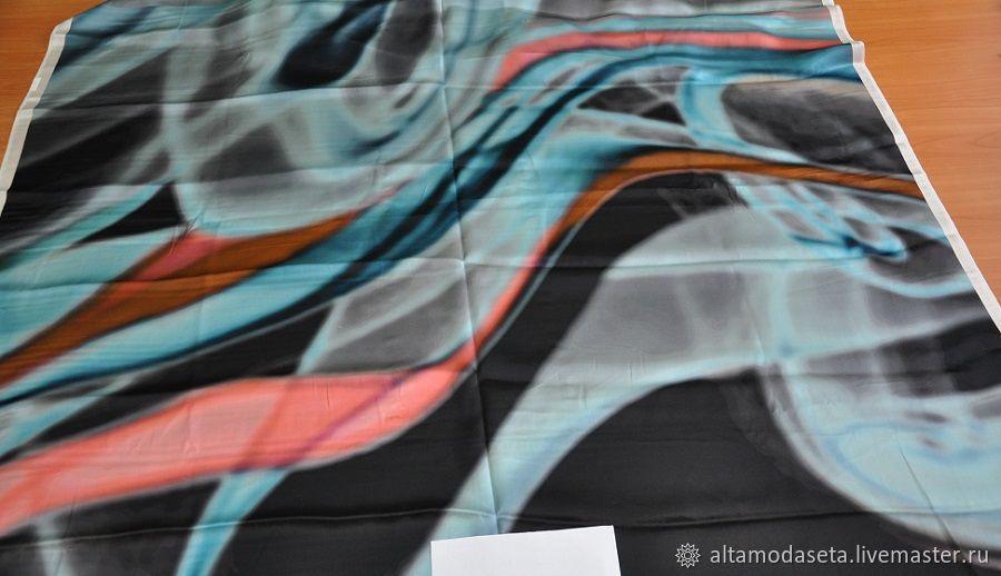 Атласный шелк Армани, Ткани, Москва,  Фото №1