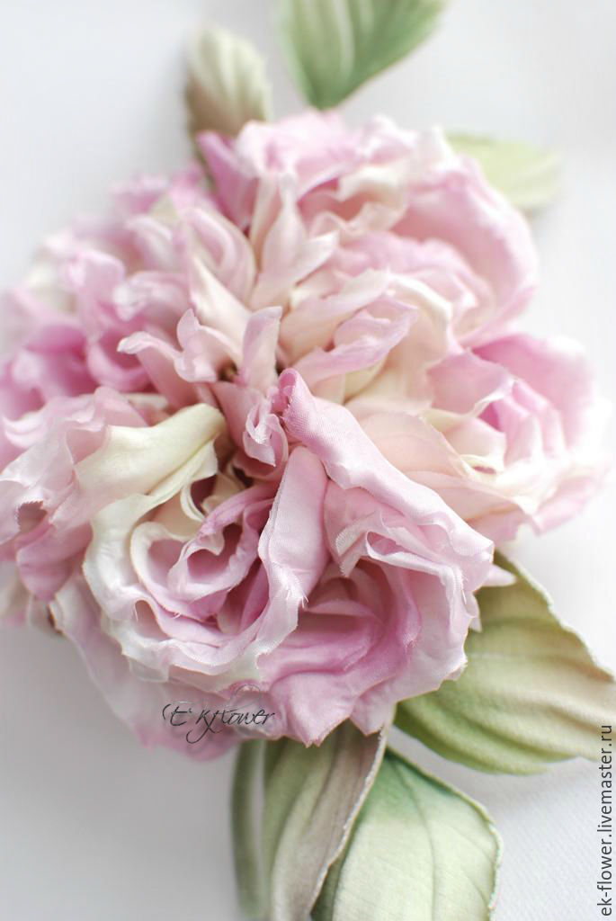 Fabric flowers silk flowers rose veronica shop online on flowers handmade livemaster handmade buy fabric flowers silk flowers mightylinksfo