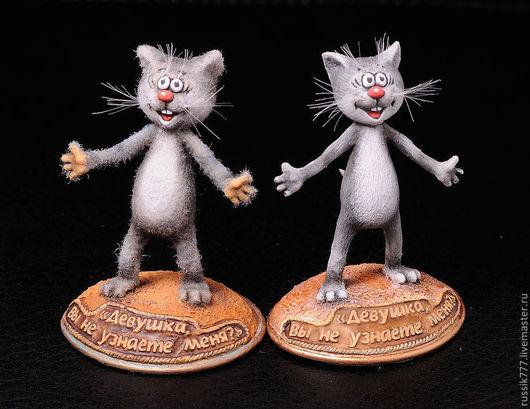 Миниатюра ручной работы. Ярмарка Мастеров - ручная работа. Купить Котёнок с улицы Лизюкова. Handmade. Миниатюра, подарок, эпоксидка