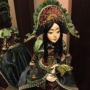 Куклы и игрушки ручной работы. Ярмарка Мастеров - ручная работа Кукла Павлина ручная работа. Handmade.