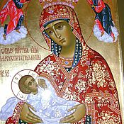 Картины и панно handmade. Livemaster - original item the image of PR.The Virgin Nursing The Child. Handmade.
