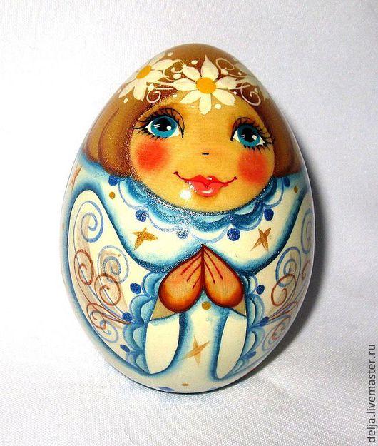"""Яйца ручной работы. Ярмарка Мастеров - ручная работа. Купить Яйцо-ангел """" Я только твой ! """". Handmade."""