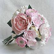 "Свадебный салон handmade. Livemaster - original item Bouquet ""Romance in Tuscany. Handmade."