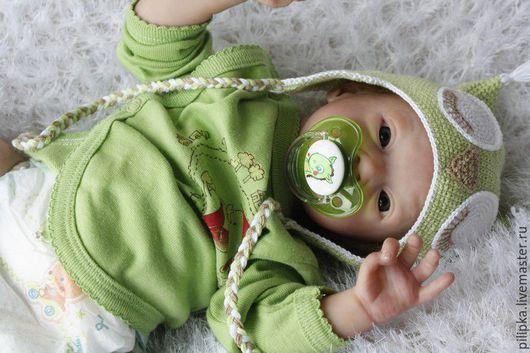 Куклы-младенцы и reborn ручной работы. Ярмарка Мастеров - ручная работа. Купить Адель. Кукла реборн.. Handmade. Зеленый, винил