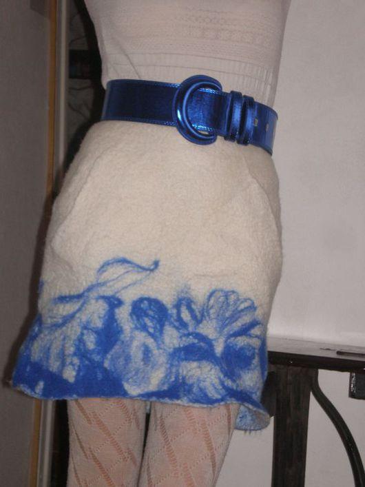 Юбки ручной работы. Ярмарка Мастеров - ручная работа. Купить Юбка. Handmade. 100% шерсть