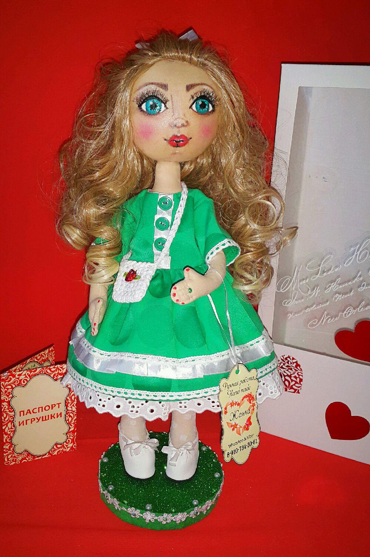 Кукла интерьерная, Куклы и пупсы, Клинцы,  Фото №1