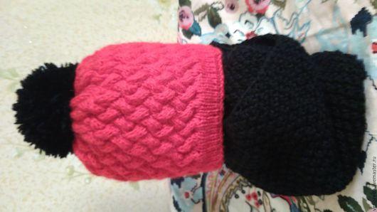 Комплекты аксессуаров ручной работы. Ярмарка Мастеров - ручная работа. Купить Шапки,шарфи,снуды. Handmade. Идея для подарка