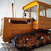 Куклы и игрушки ручной работы. Ярмарка Мастеров - ручная работа Игрушка - модель советского трактора ДТ-75 МЛ. Handmade.